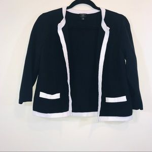 Talbots Open Front Cardigan Sweater - #1284
